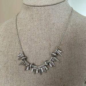 Stella & Dot Renegade Cluster Necklace
